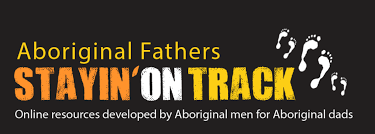Aboriginal Fathers Stayin' on Track logo