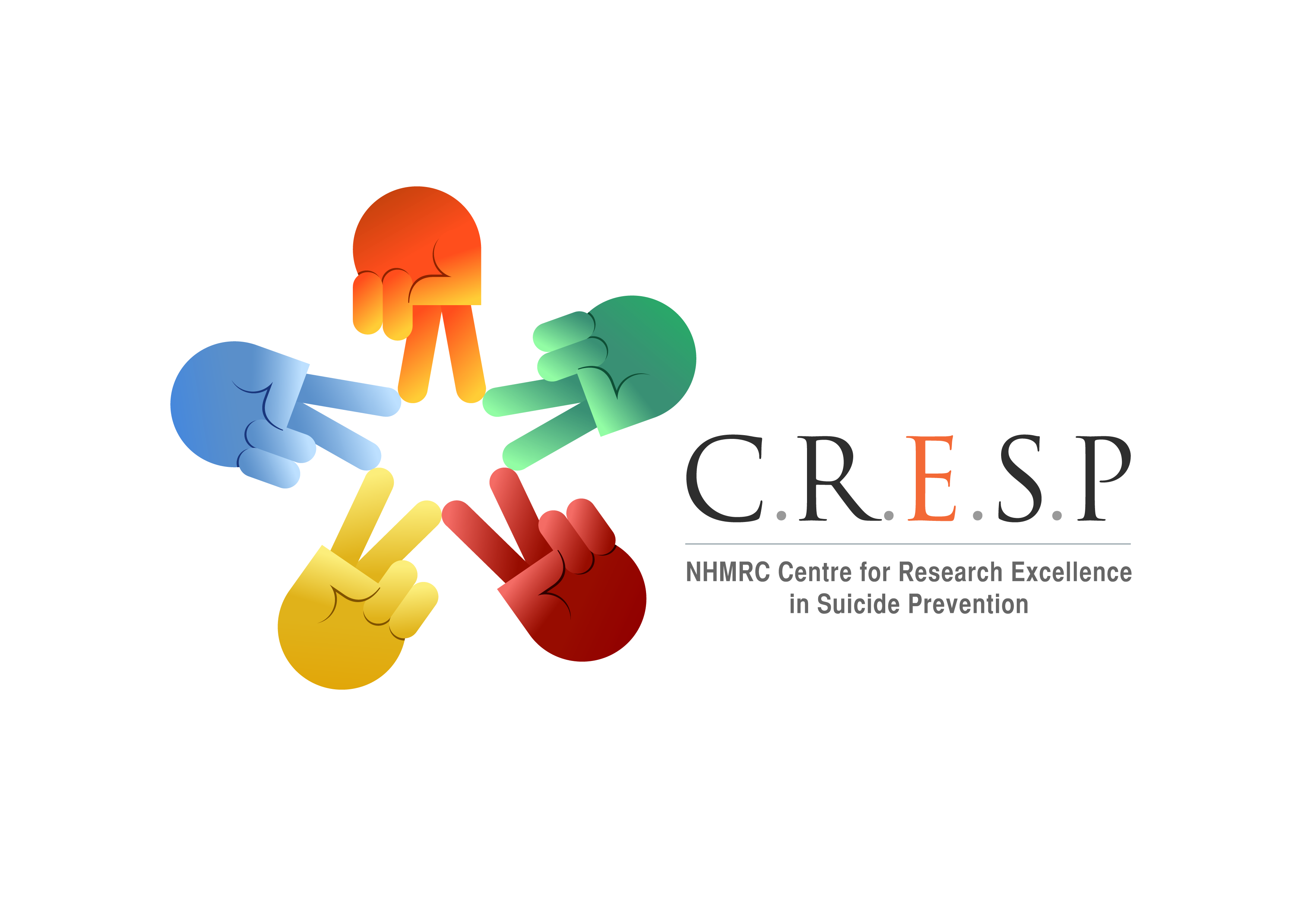 CRESP: Centre of Research Excellence in Suicide Prevention logo