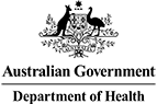 The Australian Government Department of Health logo
