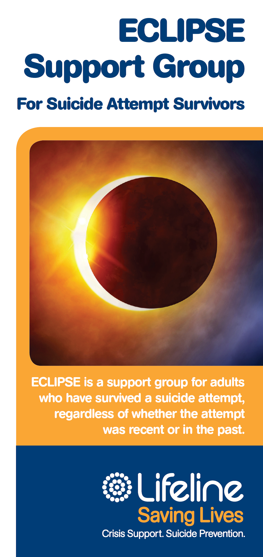 ECLIPSE - Support groups for suicide attempt survivors logo