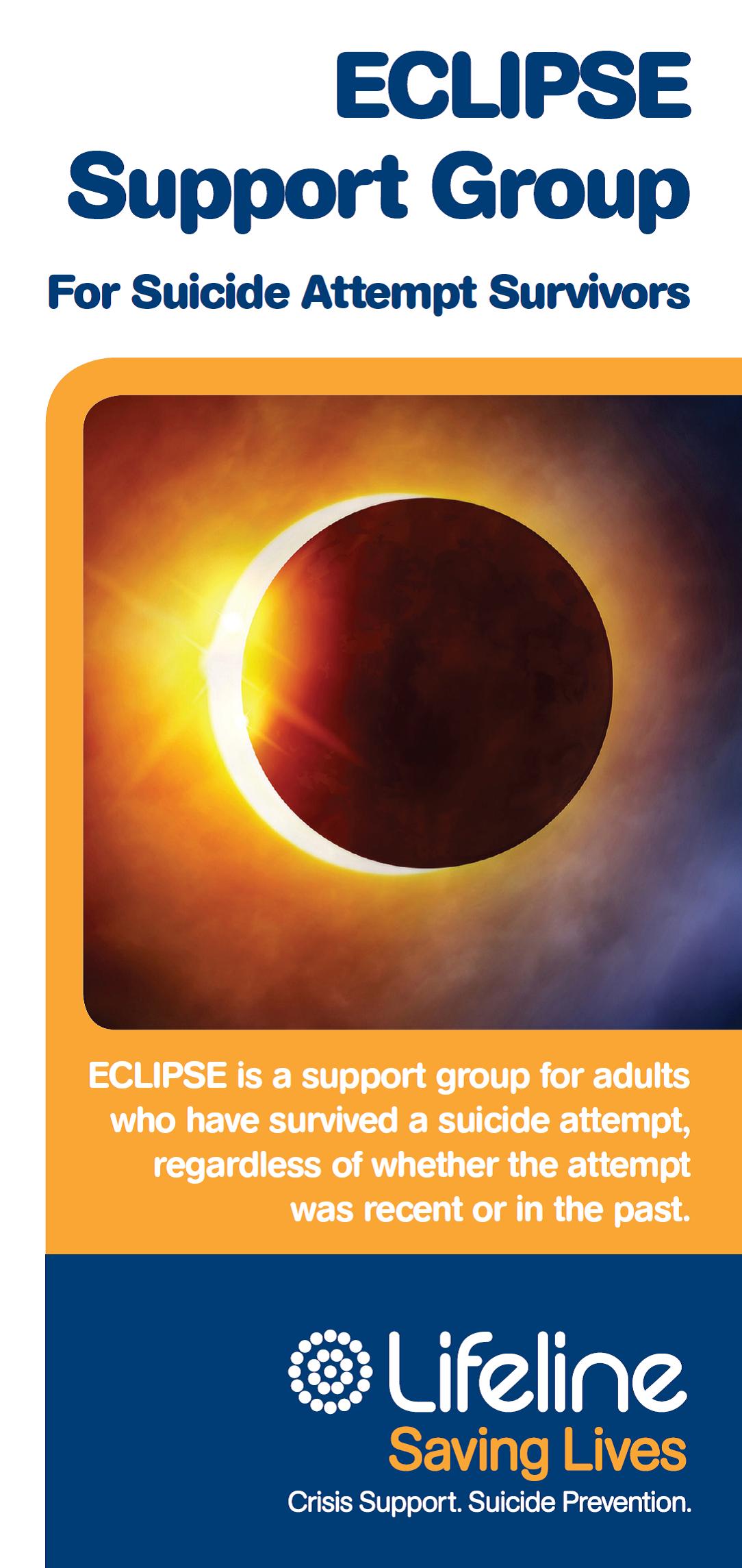 ECLIPSE - Support groups for suicide attempt survivors logo