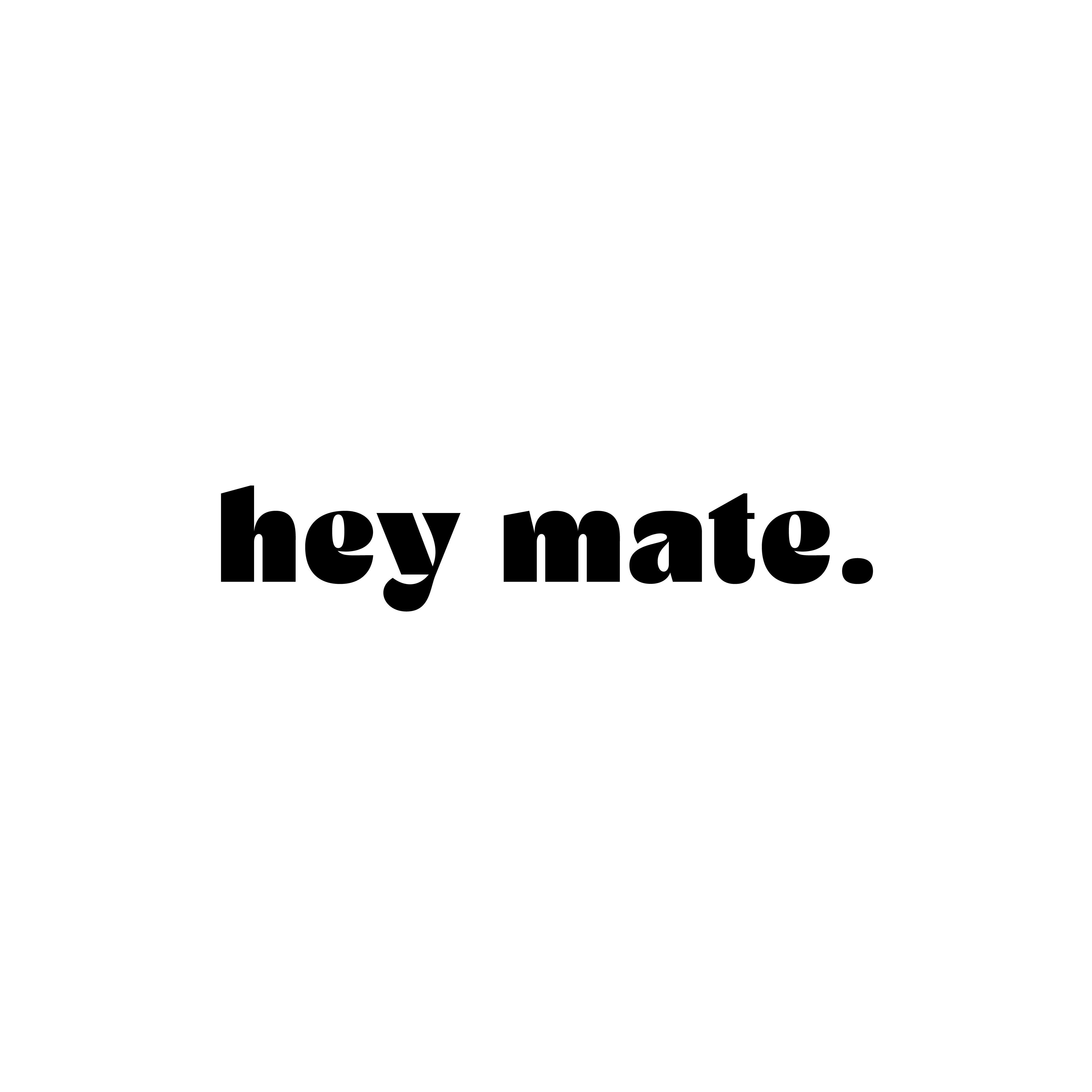 Hey Mate logo