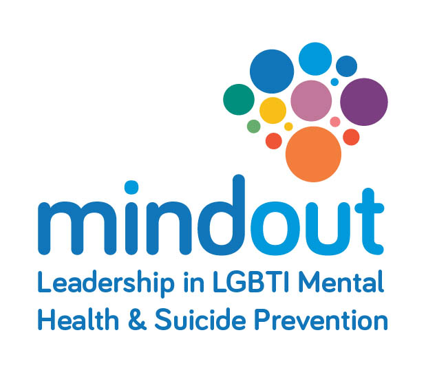 MindOUT National LGBTI Mental Health and Suicide Prevention Project logo