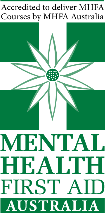 Mental Health First Aid Training for the rail industry logo